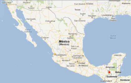 Bonampak Chiapas Mayan Archeological Site