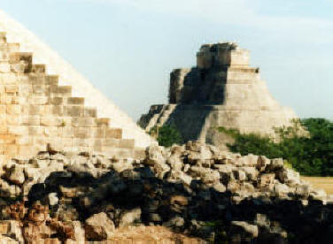 Uxmal Archeological Site, Mayan Yucatan, Mexico  Photography by Bill Bell