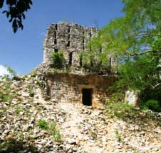 Sayil Mayan Ruins Yucatan Mexico Photography by Bill and Dorothy Bell