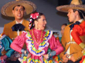 Mexico Ballet Folkorico on this night highlighted the State of Nayarit...Bill Bell Photograph