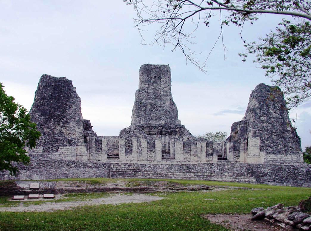 Xpuhil Mayan site