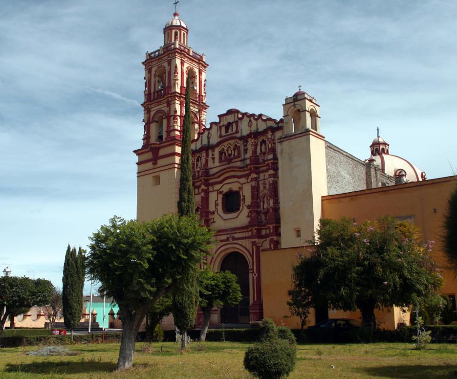 Tamazulapan Church Mex