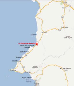 La Penita map2