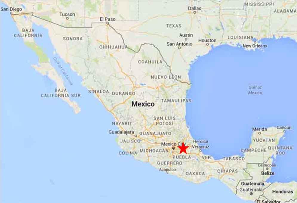 Puebla Map 1