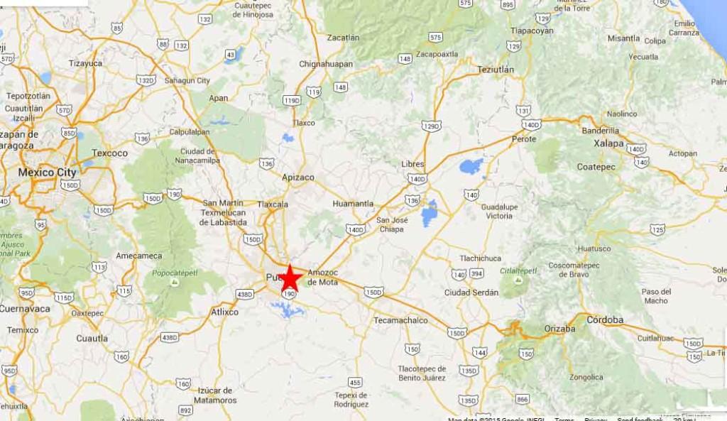 Puebla Map 2