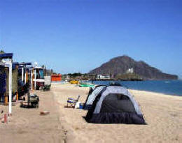Campo San Felipe Camping Park On The Road In Mexico