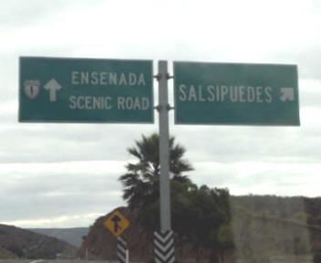 Salsipuedes Ensenada Baja California On The Road In