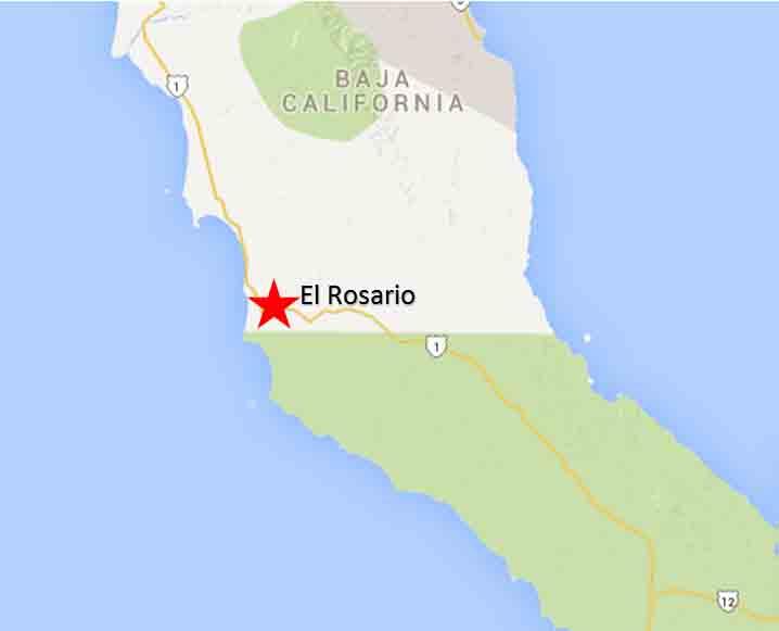 El Rosario On The Road In Mexico