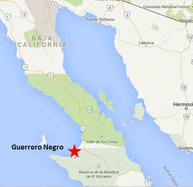 Guerrero Negro Map1