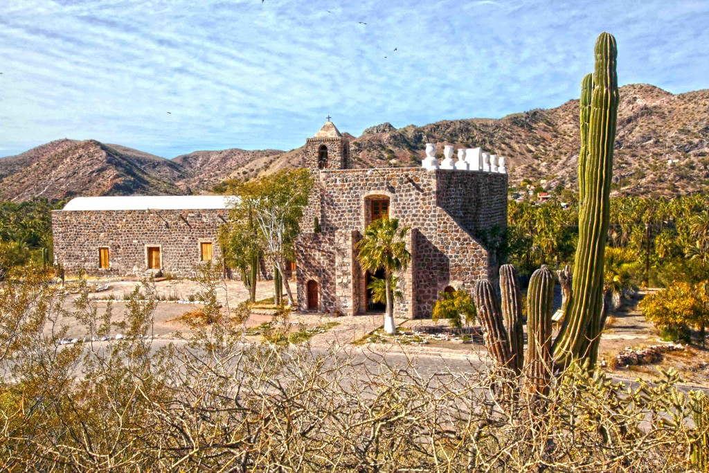 Mulege Mission, one of the many well preserved Missions you can find on the Baja Bill Bell Photograph