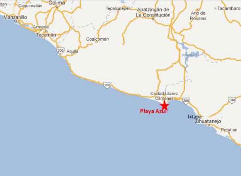 Playa azulmap2