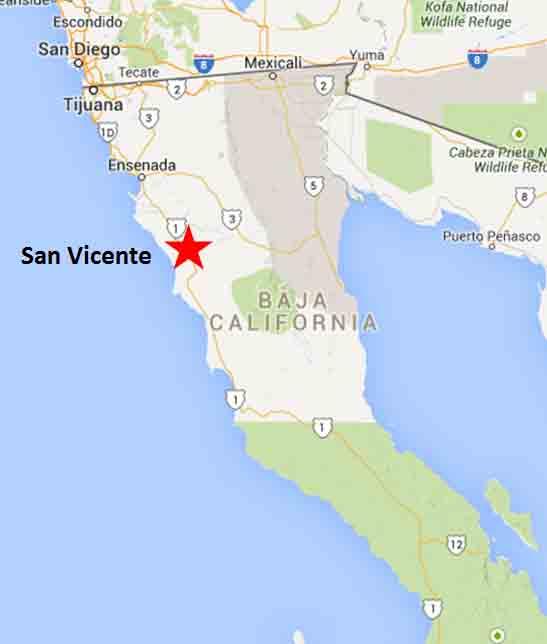 San Vicente map1