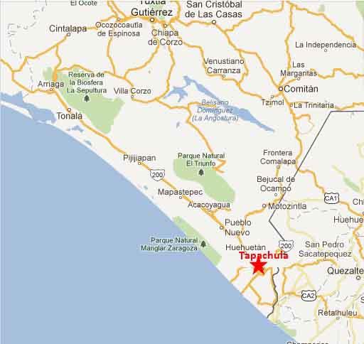 Tapachula map 2