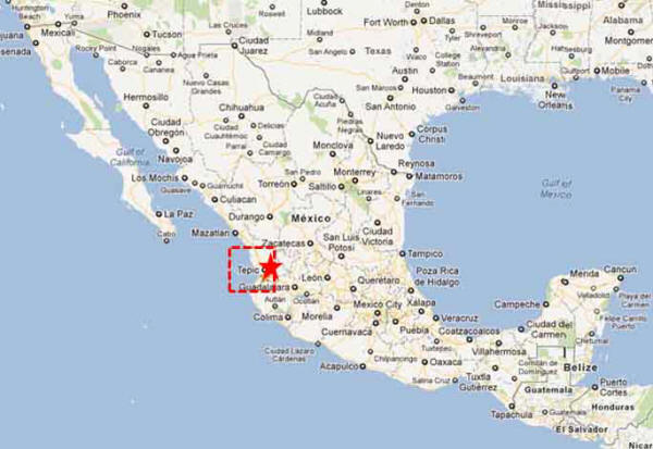 Tepic, Nayarit  On The Road In Mexico