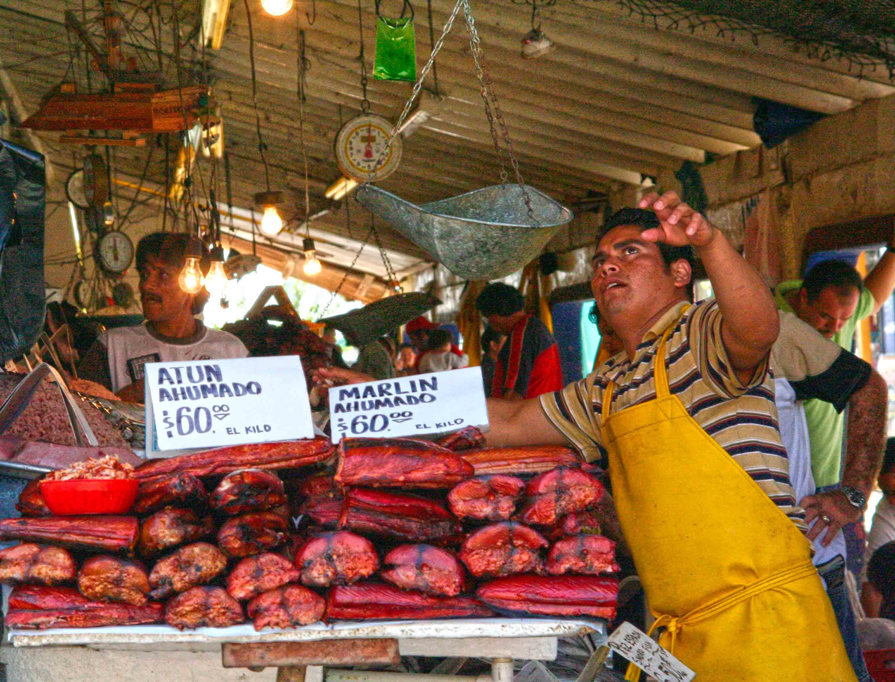 Ensenada baja california on the road in mexico for La fish market