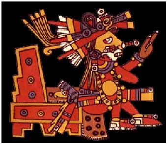 flowers aztec