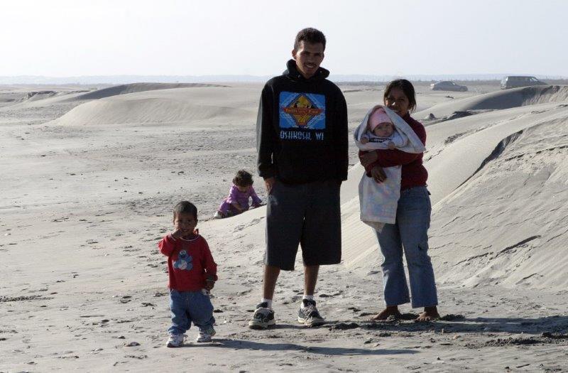 mexican family san quintin