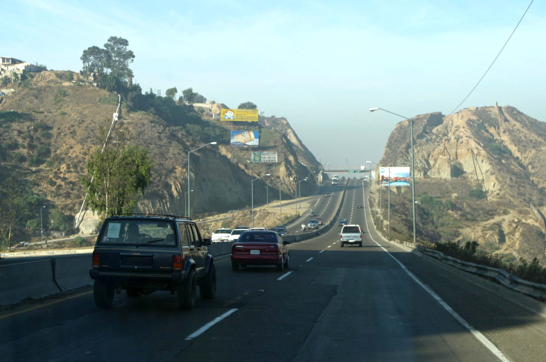 tijuana baja california   road  mexico