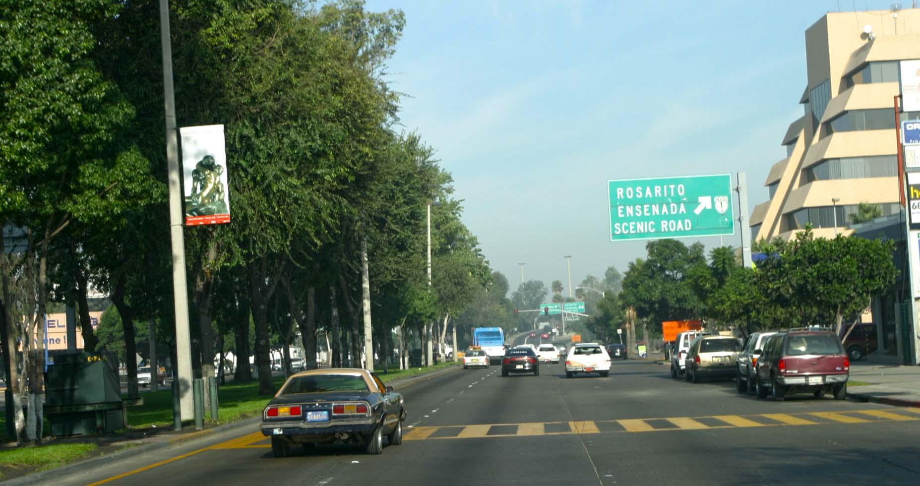 Tijuana Baja California On The Road In Mexico