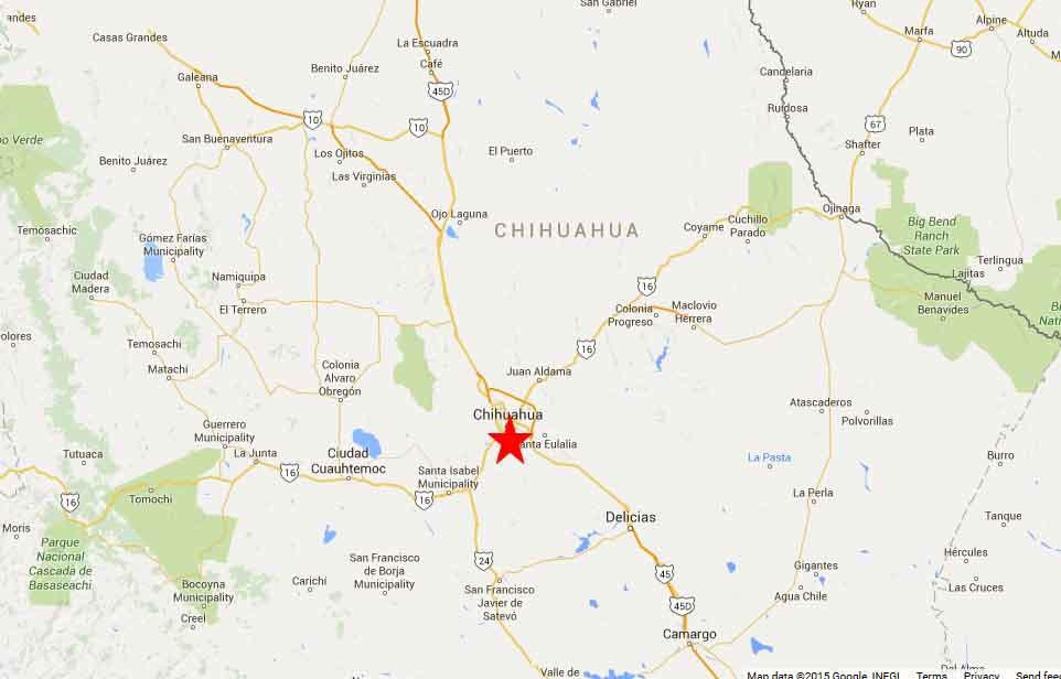 Chihuahua map2