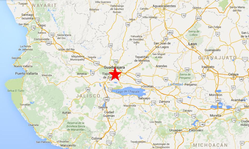 Guadalajara map2
