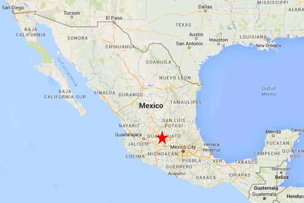 Guanajuato Map 1