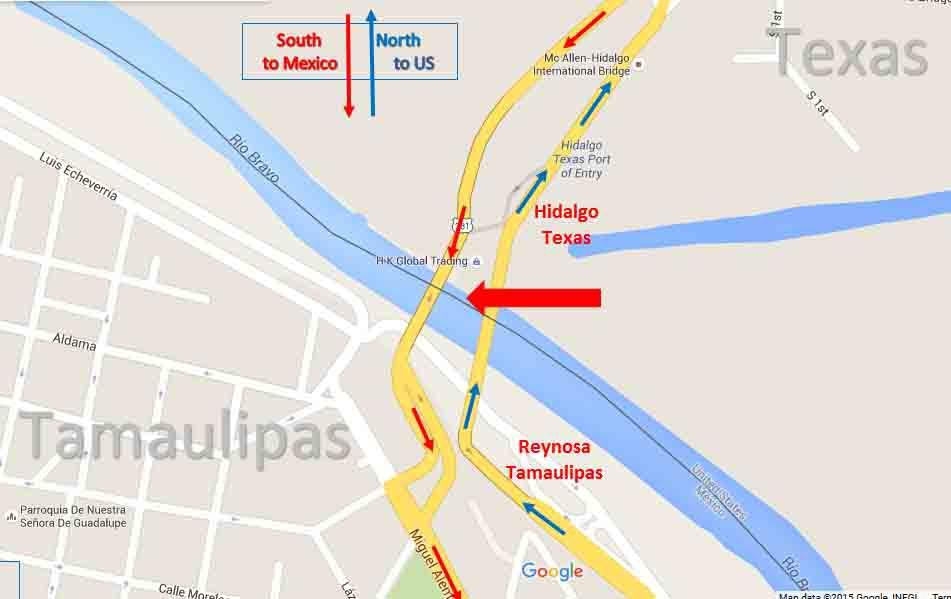Hidalgo Border Map 1