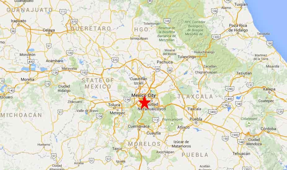 Mexico City Map 2