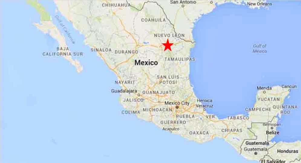 Monterrey Map 1