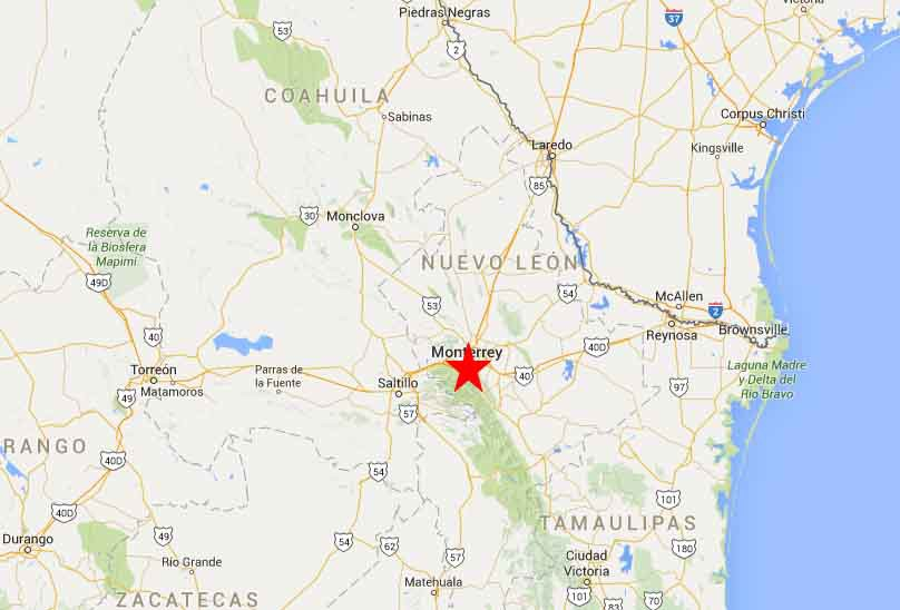 Monterrey map 2