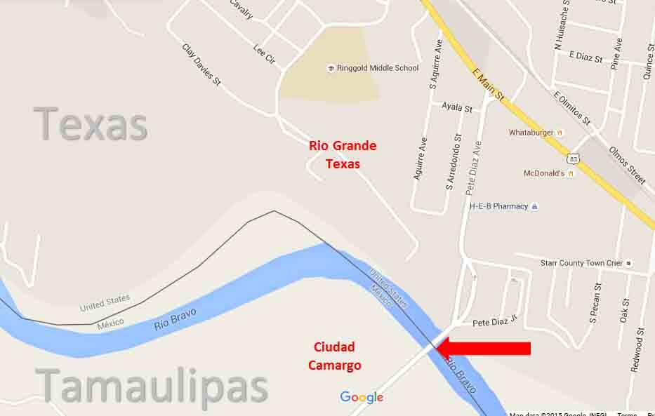 Rio Grande Border Map 1