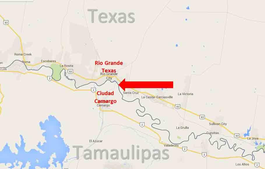 Rio Grande Border Map 2