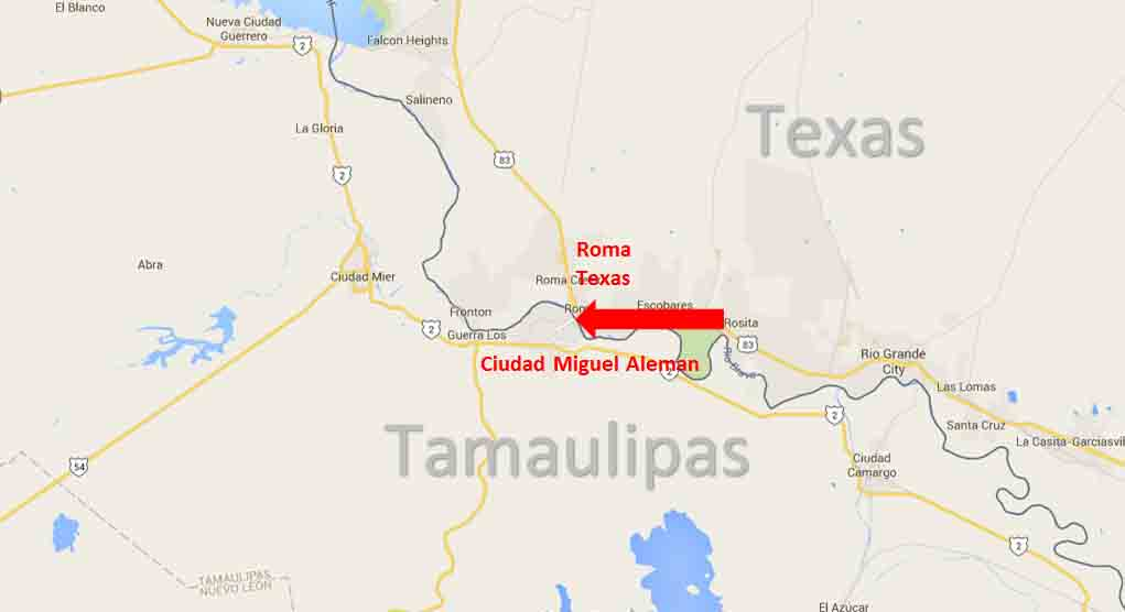 Gallery For Gt Mexico Border Crossing Map