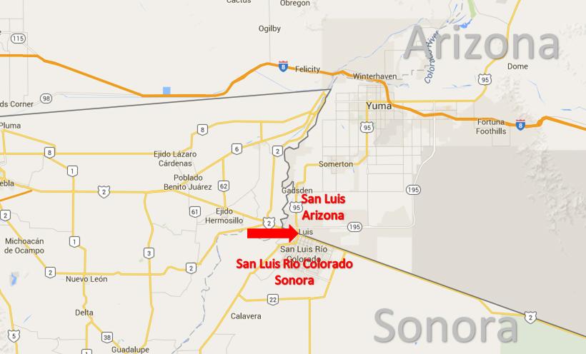 San Luis, Arizona – San Luis Rio Colorado, Sonora