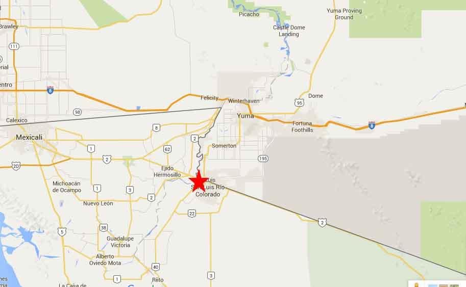 San Luis R 237 O Colorado Sonora