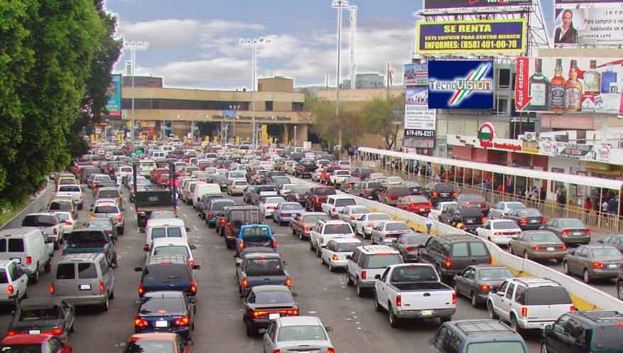 San Ysidro Tijuana Baja California On The Road In Mexico