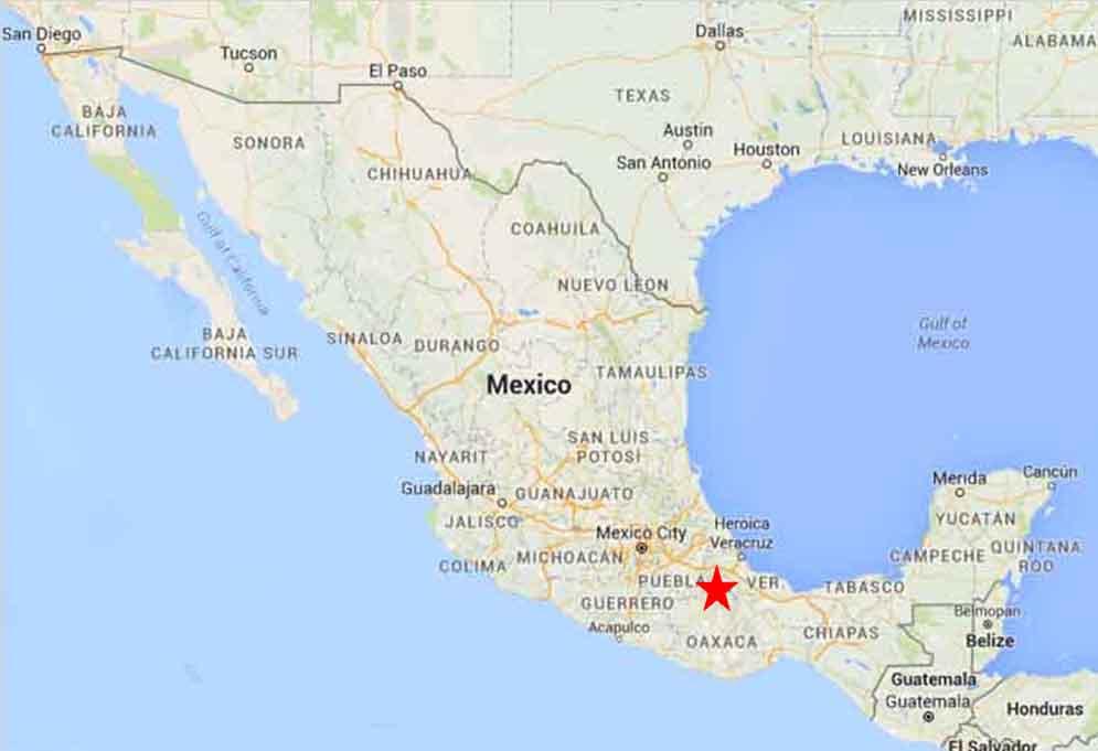 Tehuacan Map 1