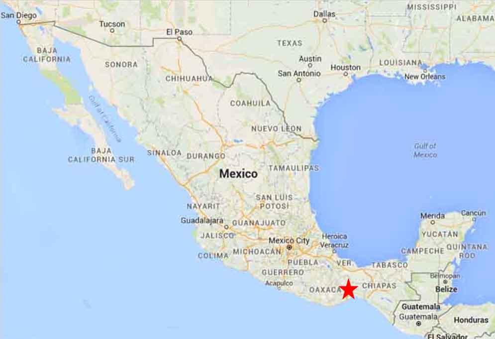 tehuantepec oaxaca tehuantepec map 1