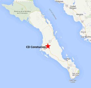 Cd Constitution Baja California Sur On The Road In Mexico
