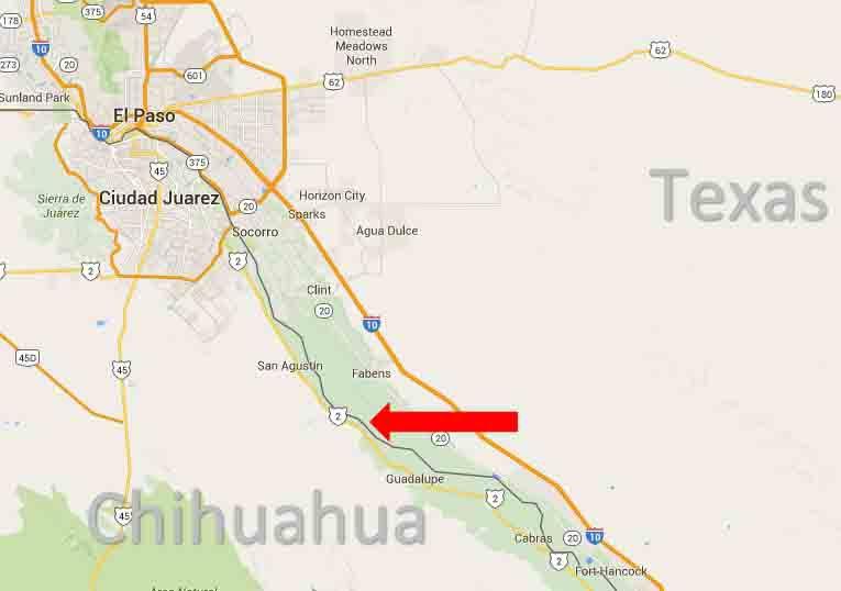 fabens border map 2