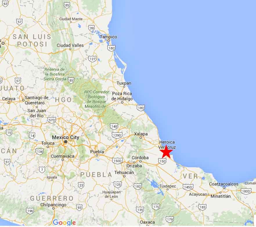 Veracruz Veracruz On The Road In Mexico