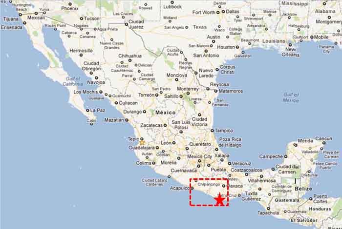 Puerto Escondido, Oaxaca Mexico
