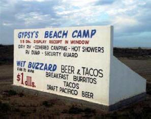 Gypsy S Beach Camp San Quintín Baja California Mexico