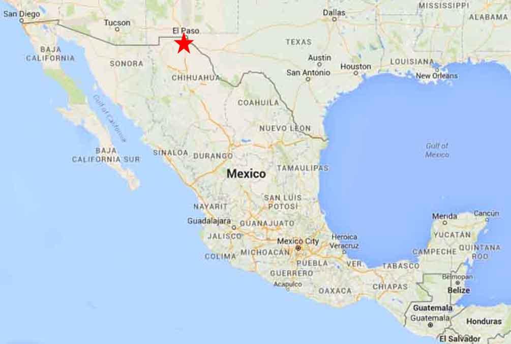 Juarez Mexico Map Ciudad Juarez Map | compressportnederland