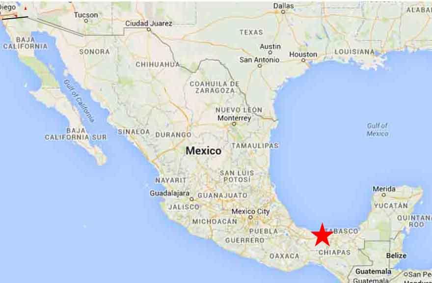 Coatzacoalcos map 1   On The Road In Mexico