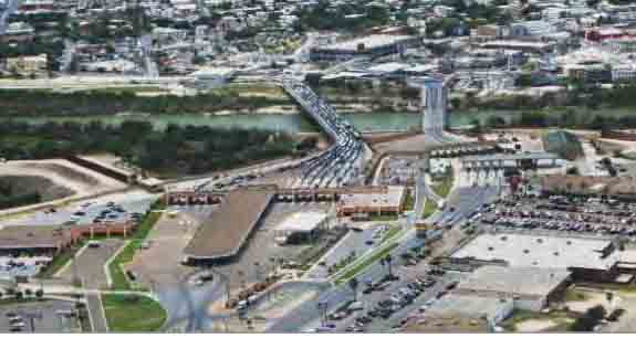 Hidalgo, Texas - Reynosa, Tamaulipas Border Crossing | On