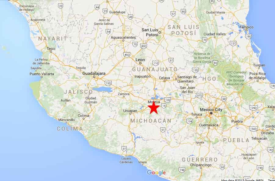 Mexican vigilantes brace for cartel reprisal  |Water Maps Michoacan Mexico
