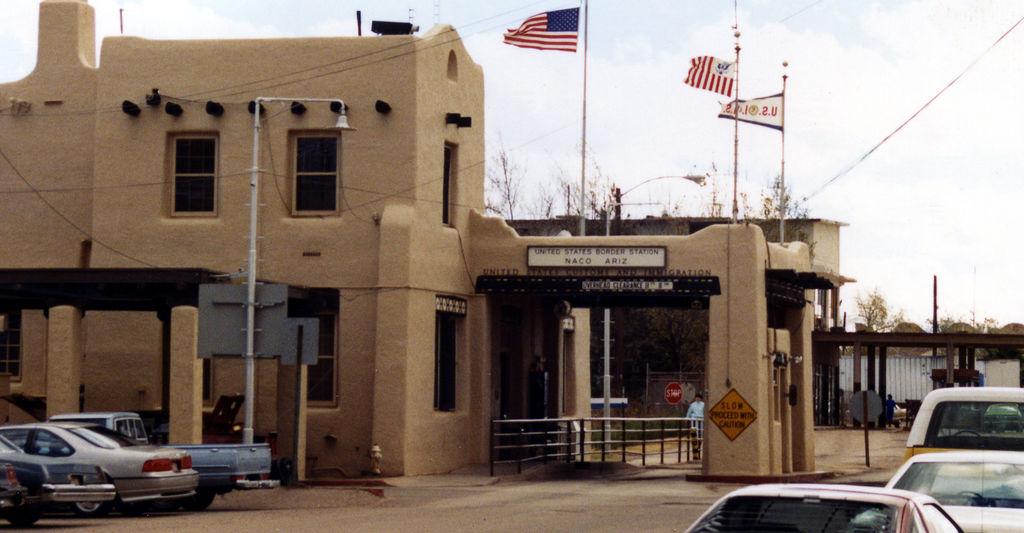 Naco Arizona Naco Sonora Border Crossing